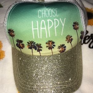 Choose happy with this beachy SnapBack 🧢